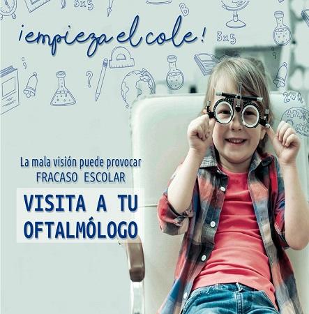 Revisión ocular en niños